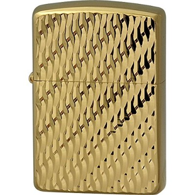 Zippo(ジッポー) オイルライター Diagonal Wave(C) Gold Plate(G・tank) Gold Plate(G・tank)