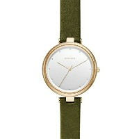 スカーゲン Skagen 腕時計 Skagen Women's SKW2483 Tanja Green Leather Watch