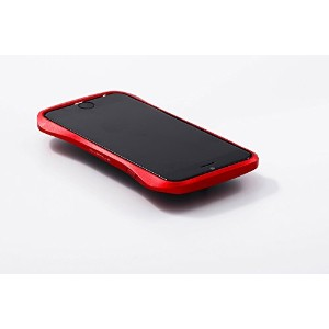 iPhone 6(S)専用 三次元デザインが持ちやすい【Deff】CLEAVE Aluminum Bumper for iPhone 6(S) / DCB-IP60A6 (レッド(赤))