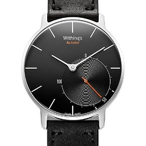 Withings スイス製スマートウォッチ Activité ブラック【日本正規代理店品】