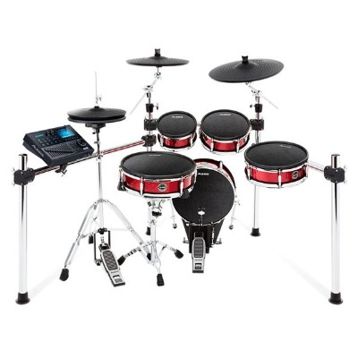 ALESIS《アレシス》 Strike Kit [Eight-Piece Professional Electronic Drum Kit with Mesh Heads] ※ドラムペダル...
