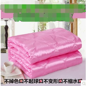 Xia Liang was double ice silk air-conditioned by the summer thin quilt can be washed Tencel summer