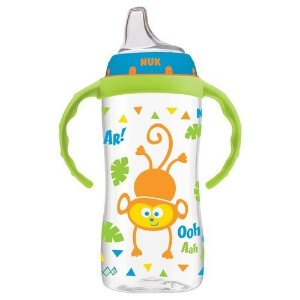 NUK Jungle Animals Silicone Learner Cup BPA-Free 10 oz