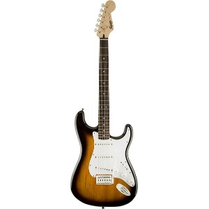 Squier by Fender 《スクワイヤーbyフェンダー》 Bullet Strat w/Tremolo (Brown Sunburst)【g_p5】
