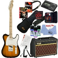 Squier by Fender 《スクワイヤーbyフェンダー》 Affinity Series Telecaster (2-Color Sunburst/Maple Fingerboard) ...