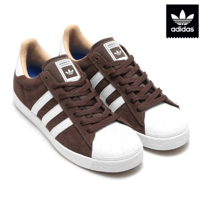 adidas Originals SUPERSTAR VULC ADV(アディダス スーパースター ヴァルカ ADV)(Brown/Running White/Gold Met)【メンズ】17SS-I