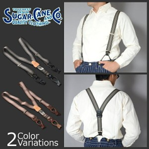 SUGAR CANE & Co.(シュガーケーン) FICTION ROMANCE 1 1/2 inch SUSPENDER サスペンダー SC01929