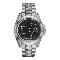 レディース MICHAEL KORS ACCESS Bradshaw Touchscreen Smartwatch スマートウォッチ シルバー