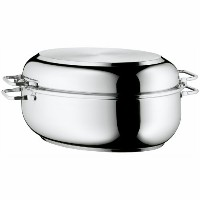 【送料無料】【WMF Stainless Steel Deep Oval Roasting Pan 16-1/4-Inch by WMF】 b0091ntvw0