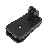 360°回転式 クリップ マウント Clip Mount for GoPro HD Hero2 / Hero3 /Hero3+
