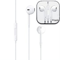 Earphones with Remote and Mic (iPod・iPhone用イヤホン) スマホ 多機種対応 新型 イヤホン リモコン付き マイク付き (ホワイト) FD221ZJ/A