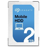 Seagate シーゲイト 内蔵ハードディスク Mobile HDD 2TB ( 2.5 インチ / SATA 6Gb/s / 5400rpm / 128MB / 2年保証 ) 正規輸入品...