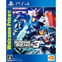【PS4】ガンダムブレイカー3 Welcome Price!!