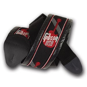 Gibson ギターストラップ ASGG-700 3'' Woven Strap with Gibson Logo ギブソン