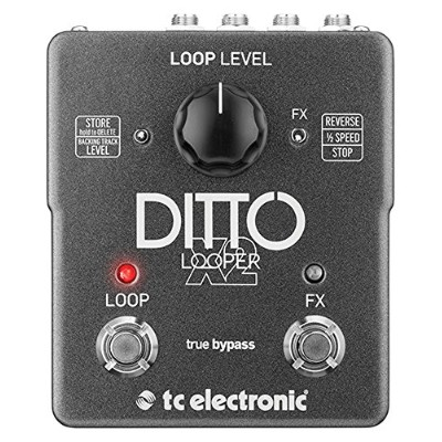 tc electronic 2ボタン ルーパー DITTO X2 LOOPER