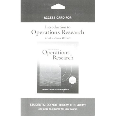 Access Card for Introduction to Operations Research