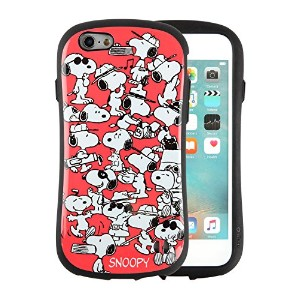 iFace First Class スヌーピー PEANUTS iPhone6s / 6 ケース 耐衝撃 / サーモンピンク
