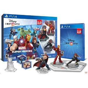Infinity 2.0 Starter Pack-Marvel Super Heroes-Ps4