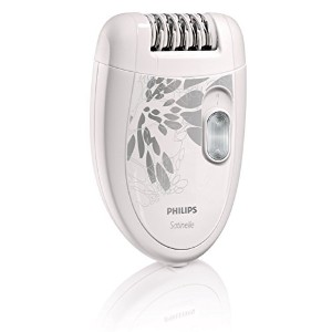 【並行輸入品】Philips HP6401 Satinelle Epilator White/Gray