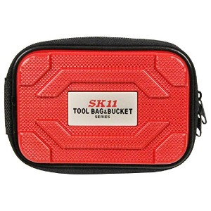 SK11 ABSツールポーチ レッド STP-ABS RD