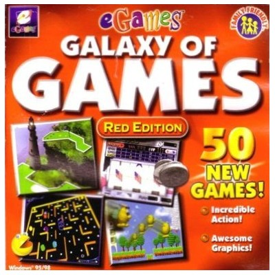 Galaxy of Games: Red Edition (輸入版)