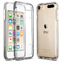 【ULAK】iPod touch ケース Apple ipod touch 6/ipod touch 5 カバー シリコン ソフト バンパー クリア衝撃吸収 スリム 軽量 傷防止iPod touch...