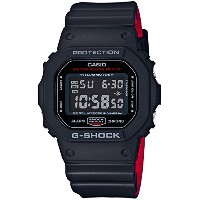 [カシオ]CASIO 腕時計 G-SHOCK Black & Red Series DW-5600HR-1JF メンズ
