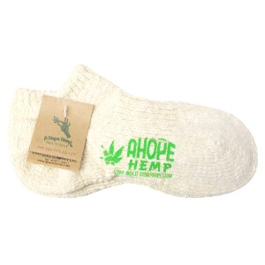 (アホープヘンプ) A HOPE HEMP『HSX-008R Hemp Socks』 (25cm~27cm, 6.Natural)