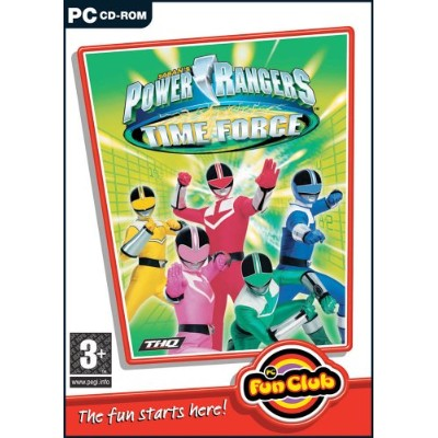 power rangers time force (PC) (輸入版)