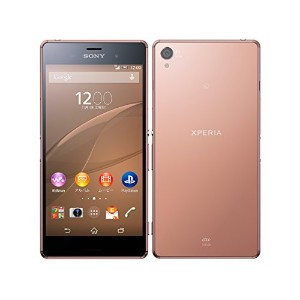SONY au Xperia Z3 SOL26 Copper