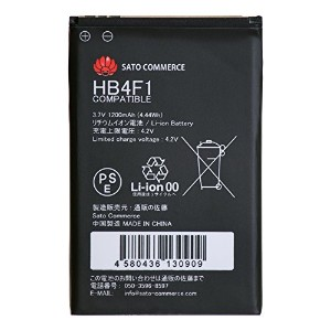 Sato Commerce HUAWEI Pocket WiFi HWBAF1 PBD25HWZ10 HW01 HB4F1 互換バッテリー ( GP01 / D25HW / HW-01C /...