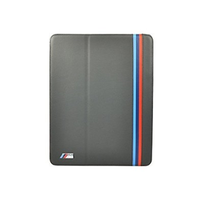 CG Mobile BMW M Collection Genuine Leather Folio Case for iPad Singapore Gray