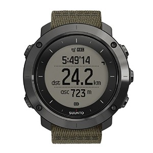 スント Suunto Traverse GPS Slate Quartz Watch - SS022293000 [並行輸入品]
