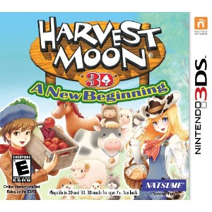Harvest Moon 3D: A New Beginning nintendo 3ds (import)