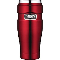 Thermos Stainless King 16-Ounce Leak-Proof Travel Mug クランベリー 【並行輸入品】