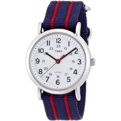 (ビームスボーイ) BEAMS BOY/TIMEX/Weekender Central Park 13480301232 NAVY/RED