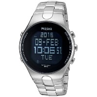 [パルサー] PULSAR 腕時計 Men's 'Mensware' Quartz Stainless Steel Dress Watch (Model: ) 日本製クォーツ PQ2053 メンズ ...