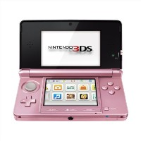 Nintendo 3DS Pearl Pink - ニンテンドー 3DS パールピンク (海外輸入北米本体)