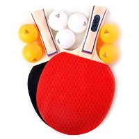 CUESOUL 2 players Table Tennis Set(パドル×2+ボール×7)WW043