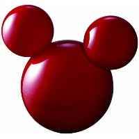 middle×Disney 超音波式加湿器 レッド DS-KW1201(RD)
