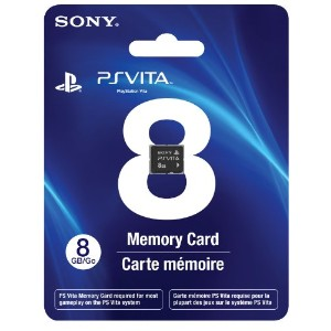 8GB PlayStation Vita Memory Card (PlayStation Vita 海外周辺機器)
