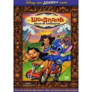 Lilo & Stitch's Island of Adventures DVD Game