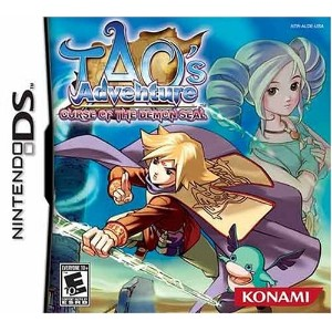 Nintendo DS Tao's Adventure: Curse of the Demon Seal (輸入版)