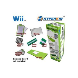 Wii Fit Seven Wonders Bundle 7 PCS (輸入版)