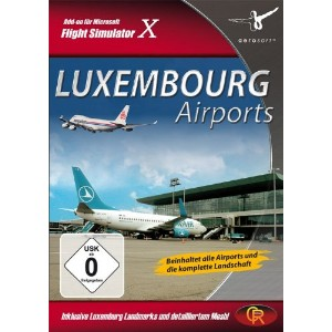 Luxembourg airports (輸入版)