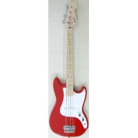 Squier by Fender Bronco Bass (Torino Red)