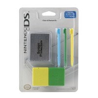 DS Lite Clean & Protect - Green/Yellow (輸入版)