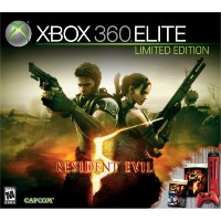 xbox360本体 バイオハザード5 エリートレッド 米国限定版 / xbox360 system resident evil 5 red elite us limited edition