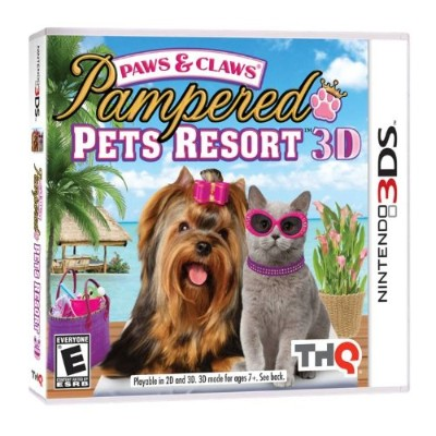 Paws & Claws Pampered Pets Resort 3D-Nla