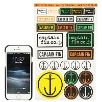 CAPTAIN FIN (キャプテンフィン) Captain Assorted Sticker Sheet ステッカーシート 【アソート】 [並行輸入品]